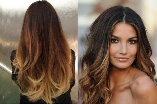 Осветление темных волос как называется