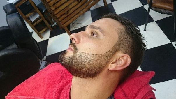 Как самому сделать контур бороды