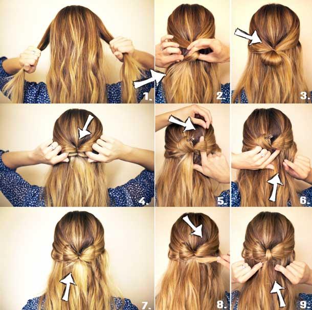 Причёска на волосы короткие своими руками пошаговая инструкция фото