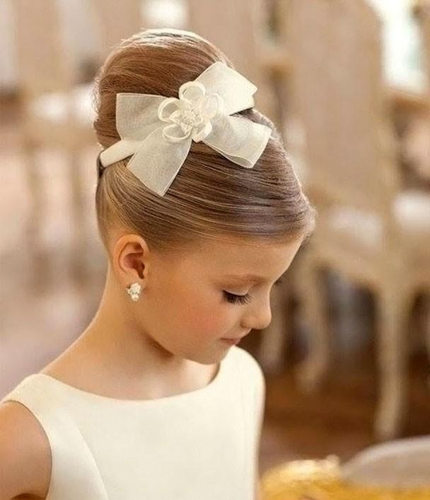 Причёски на свадьбу для ребёнка 12 лет