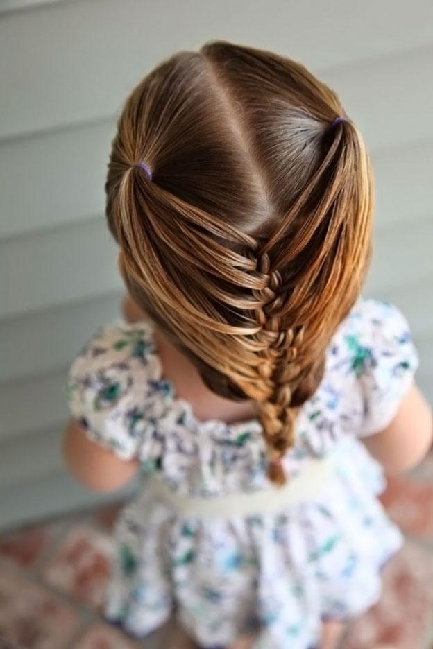Несложные и красивые причёски для девочек