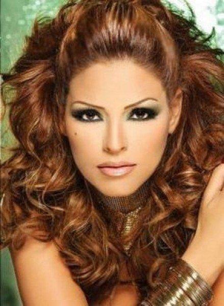 Цвет краски карамель фото для волос