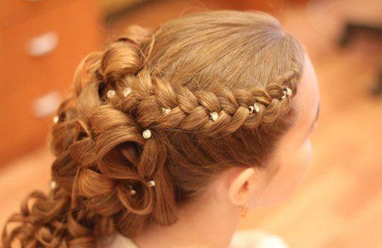 Причёски из кос картинки