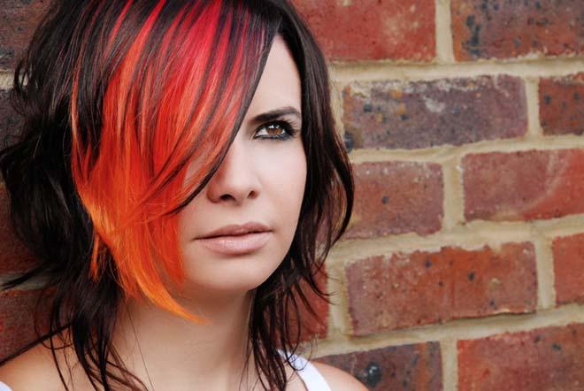 Фото креативной покраски волос