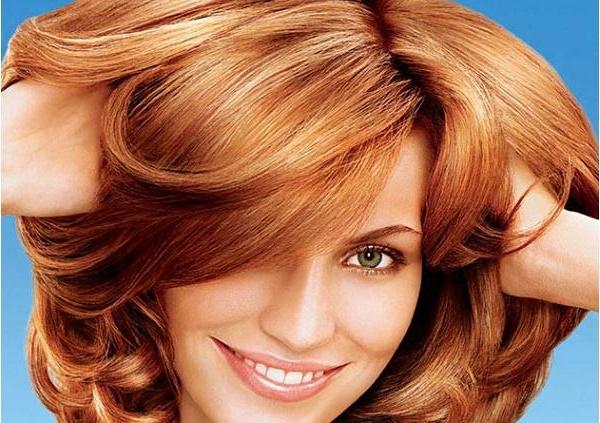 Цвет волос рыжий золотистый фото