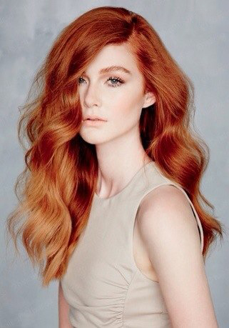 Рыжий блонд цвет волос