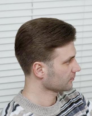 Мужская стрижка шапочка вид сзади фото