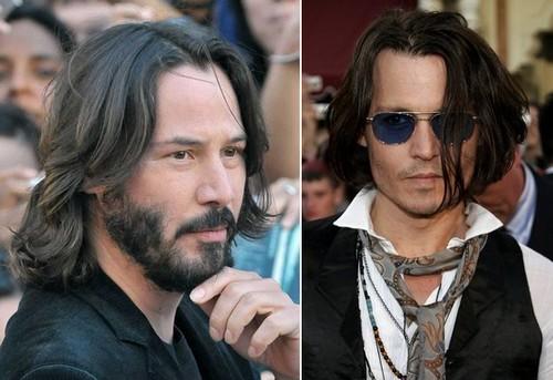Виды мужских причёсок с длинными волосами