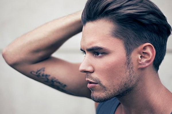 мужские стрижки с выбритыми боками фото название