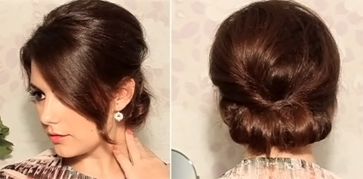 Укладка на средние волосы начес фото