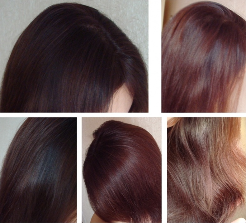 Обольстительный каштан цвет волос