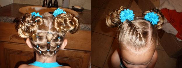 прически детского волос фото 2011