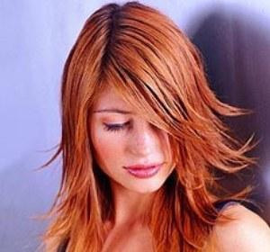 Яркий и стильный рыжий цвет волос
