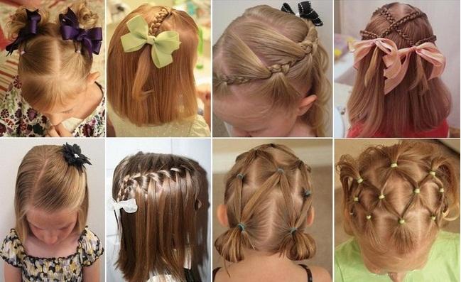 Прически для девочки своими руками на длинные волосы 111