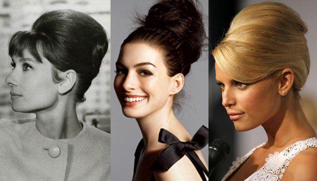 Женственность и привлекательность высоких причесок