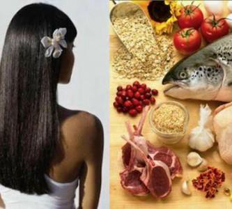 Полезные продукты против выпадения волос