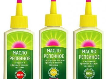 Поможет ли репейное масло от перхоти?