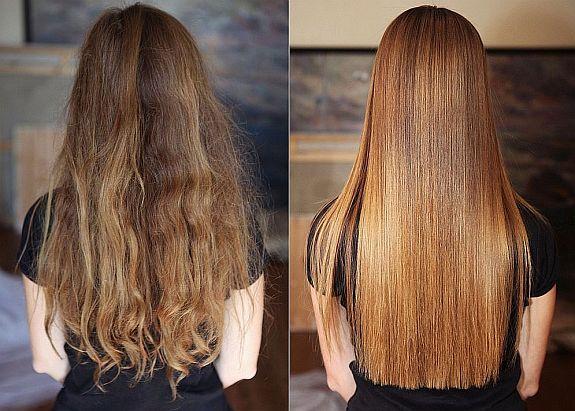Химическое выпрямление волос сколько стоит