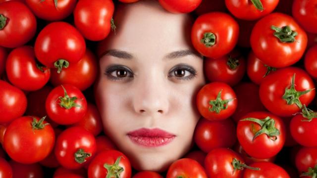 Использование помидорной маски