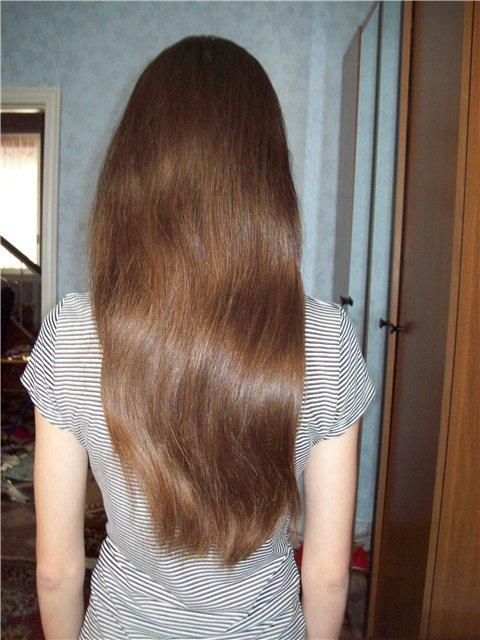 Волосы после горчичной маски