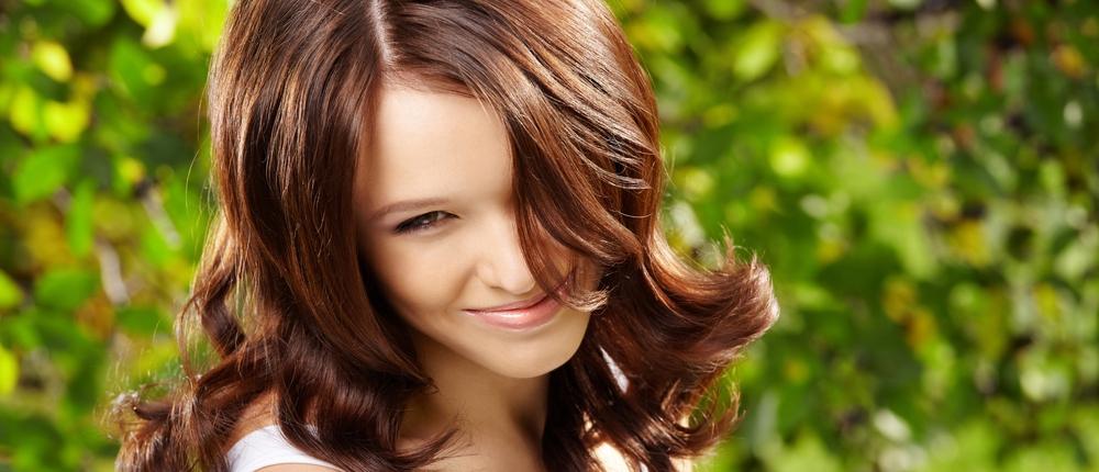 Завивка на кончиках волос