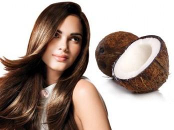 Одна из лучших — маска для волос с кокосовым маслом