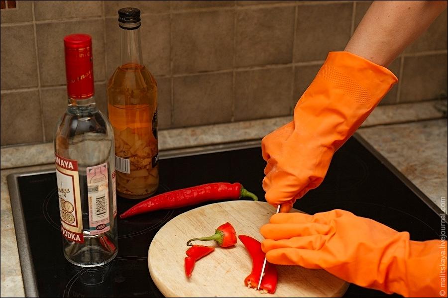 Приготовление перцовой настойки