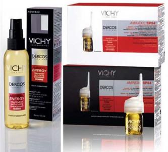 Доступное и эффективное средство «Виши» от выпадения волос