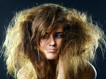 Увлажение сухих волос