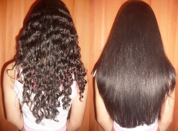 Как делается кератиновое выпрямление волос видео
