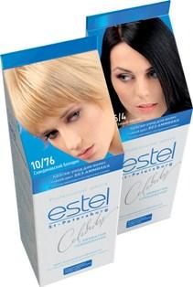 Эстель безаммиачная краска для волос палитра