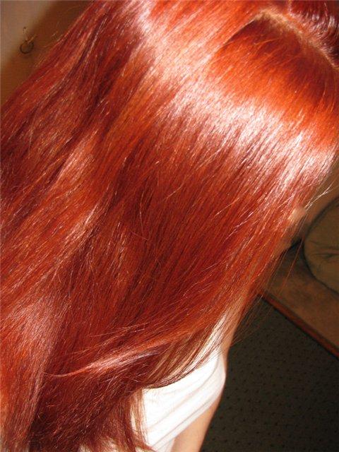 Рыжие локоны