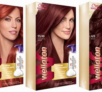 Стойкость и богатство оттенков краски для волос Велла (Wella)