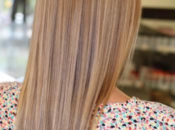 Тонируем волосы после мелирования