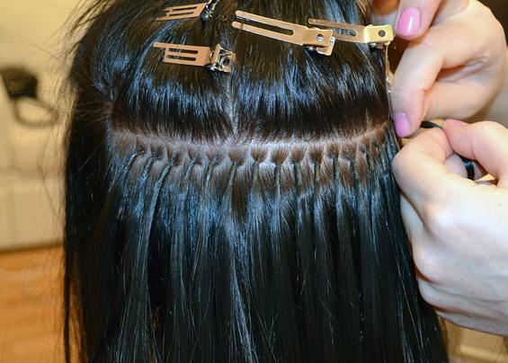 Вся косметика для ухода за нарощенными волосами