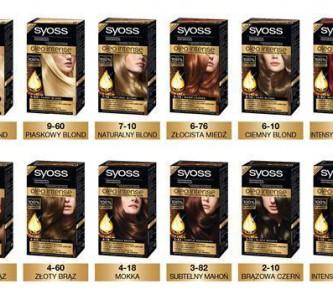 Изменяем имидж с палитрой красок для волос Сьес (Syoss)