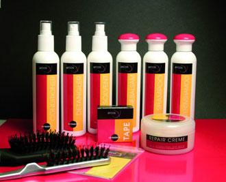 Средства для наращенных волос