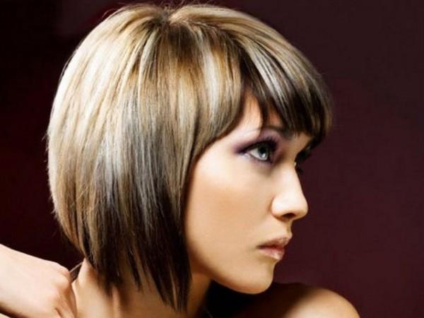 Мелирование коротких волос