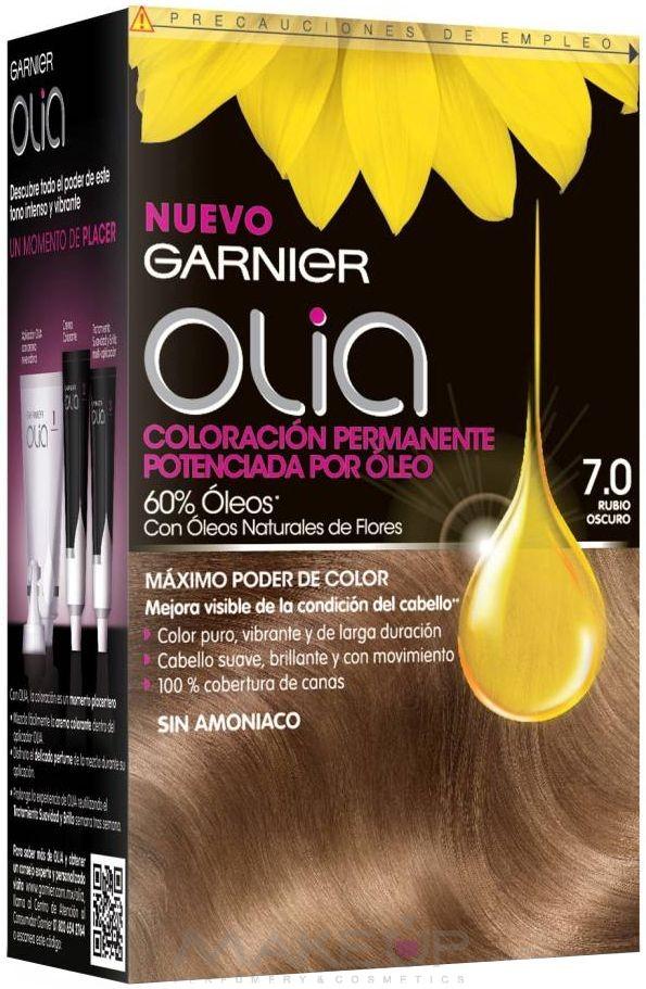 Краска для волос олиа палитра цветов отзывы