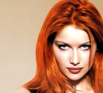 Актуальность рыжей краски для волос