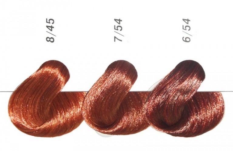 Эстель оттенки рыжего цвета волос