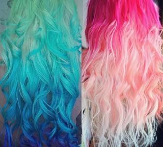 Окраска волос тоником