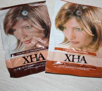 Красивые локоны после маски для волос с бесцветной хной
