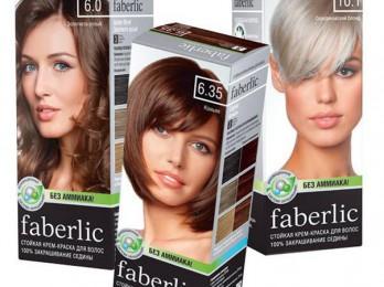Эффектные и модные цвета краски для волос Фаберлик