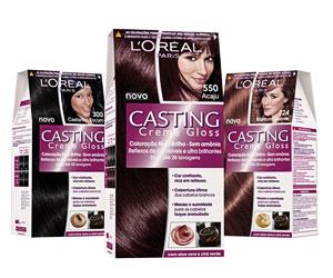 Лореаль кастинг палитра красок для волос