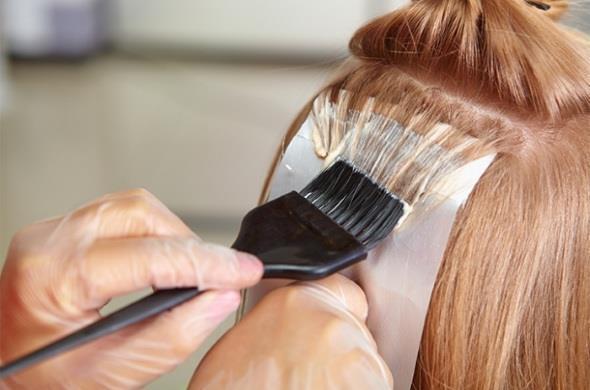 Осветление волос головы в домашних условиях