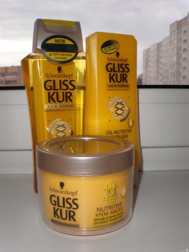 Средства по уходу за волосами Gliss Kur