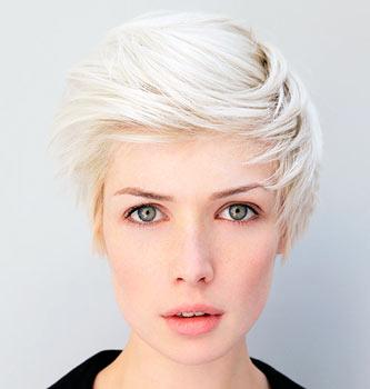 Обесцвеченные волосы