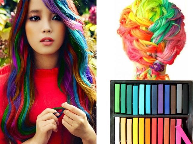 мелки для волос какой цвет подойдет для русых волос