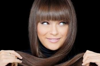 Темно-русые волосы после окрашивания